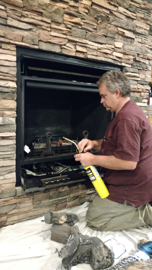 Gas Fireplace Service Repair Installation North